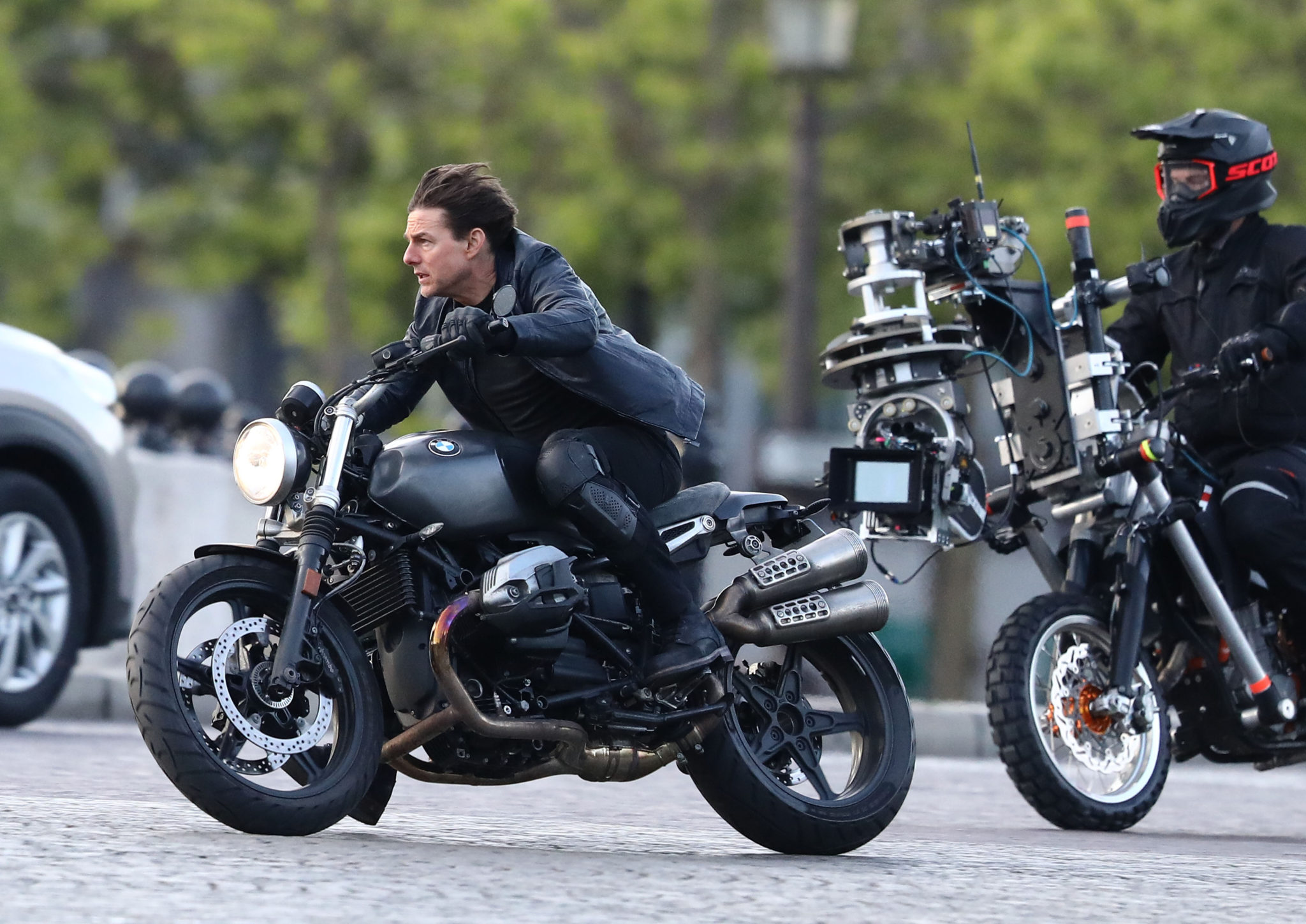 Mission Impossible Motorcycle