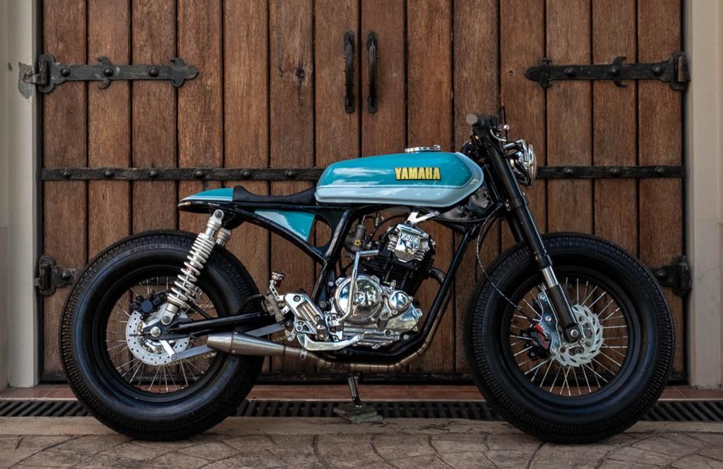Yamaha SX225 Cafe Racer