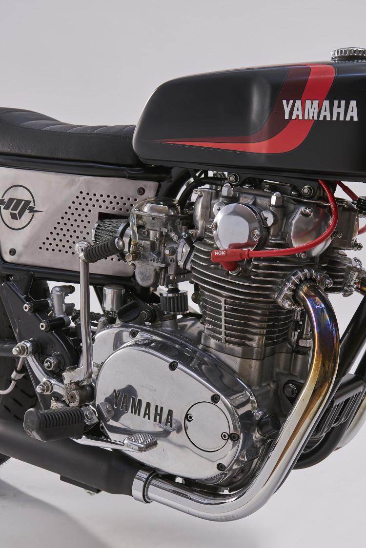"Yamaha XS650 ""Fat Tracker"" by MUTO Motorbikes – BikeBound"