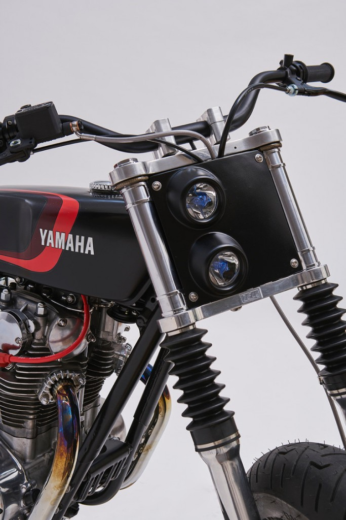 Yamaha XS650 Fat Tracker