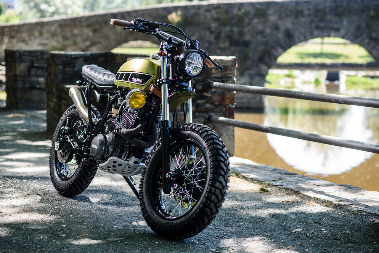 yamaha xt600 scrambler by bold motorcycles bikebound. Black Bedroom Furniture Sets. Home Design Ideas