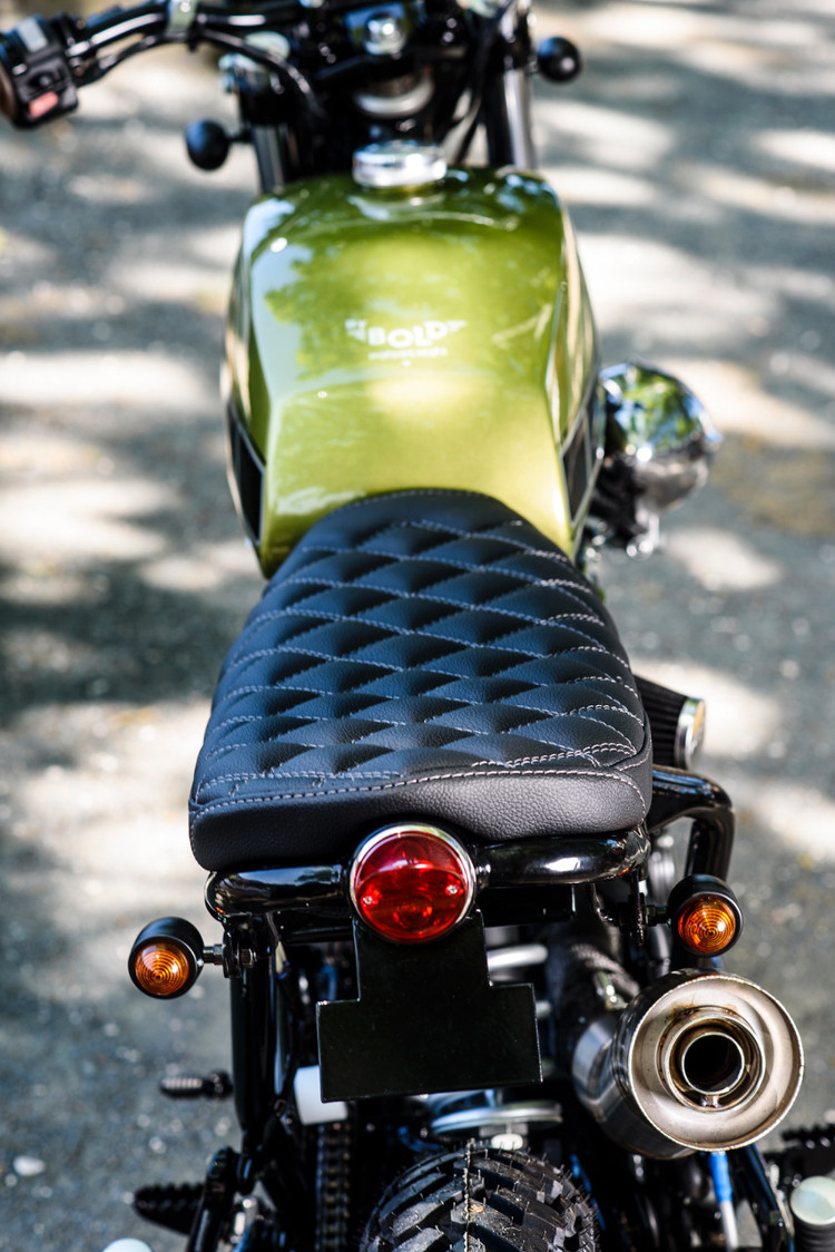 yamaha xt scrambler  bold motorcycles bikebound