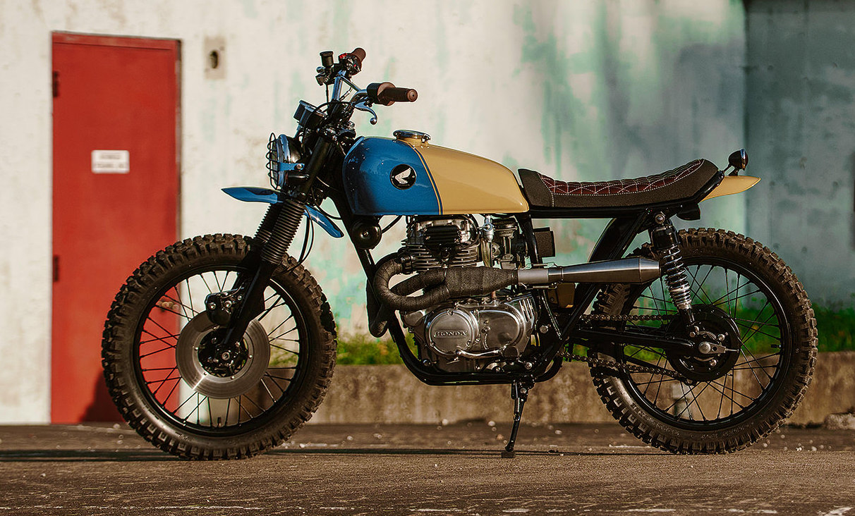 Now Hes Completed His 9th Build A 1975 Honda CB360 Scrambler Dubbed Tuna And Were Thrilled To Introduce It The World