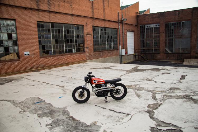 Honda CB360T Scrambler