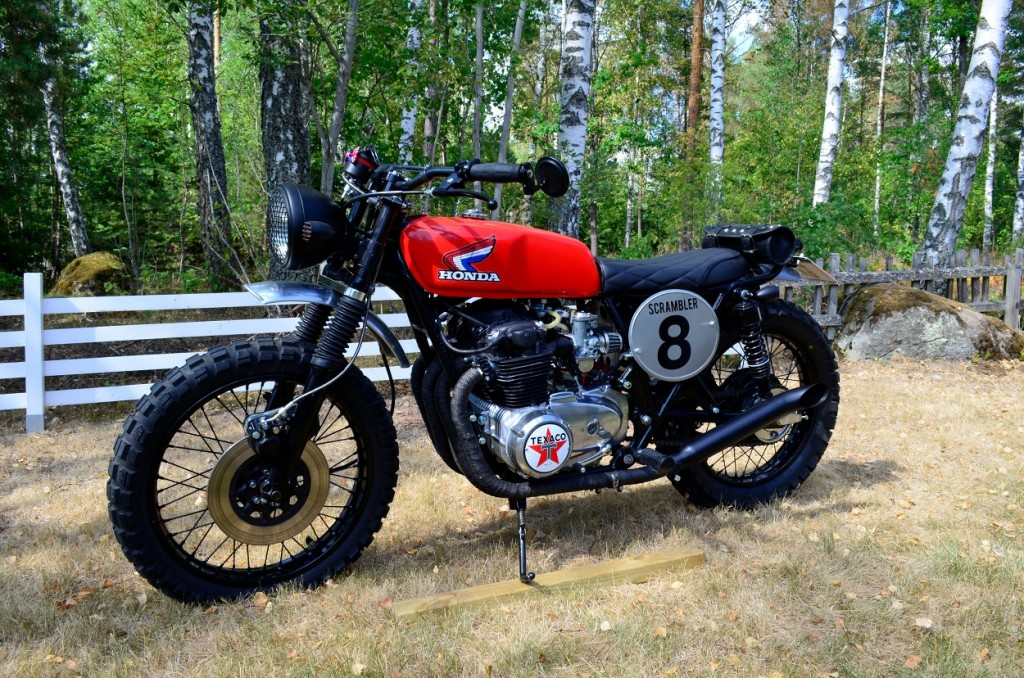 Honda CB500 Scrambler