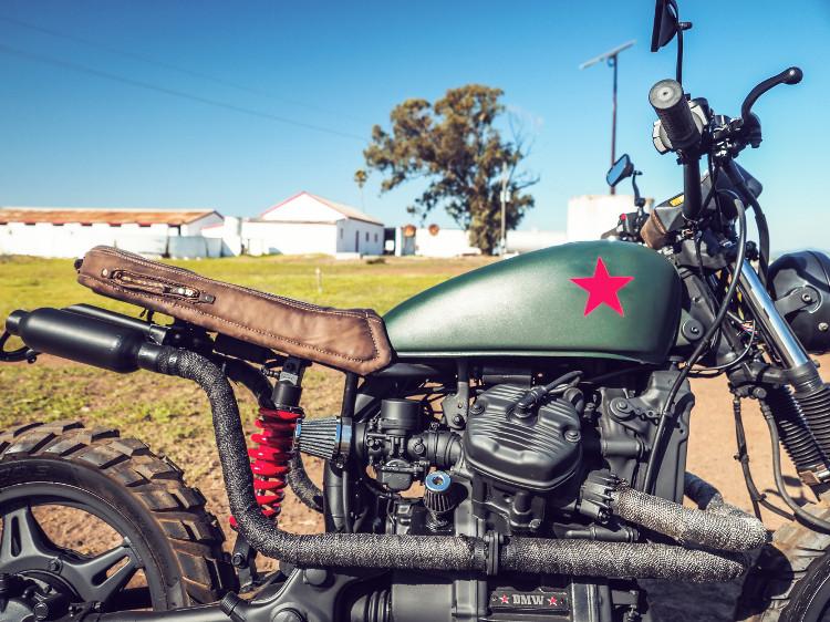 Honda CX500 Scrambler by Darling Motorcycle Works – BikeBound
