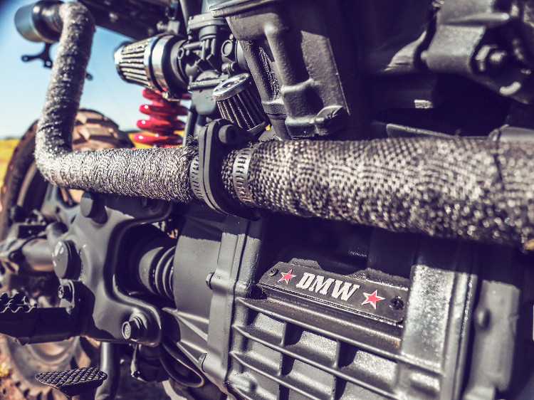 Honda CX500 Tracker Scrambler