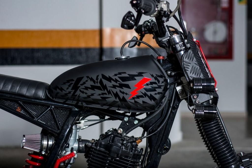 Honda XR400 Tracker