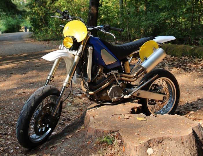 Husqvarna TE610 Supermoto
