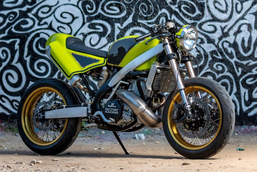 Kawasaki KX500 Cafe Racer