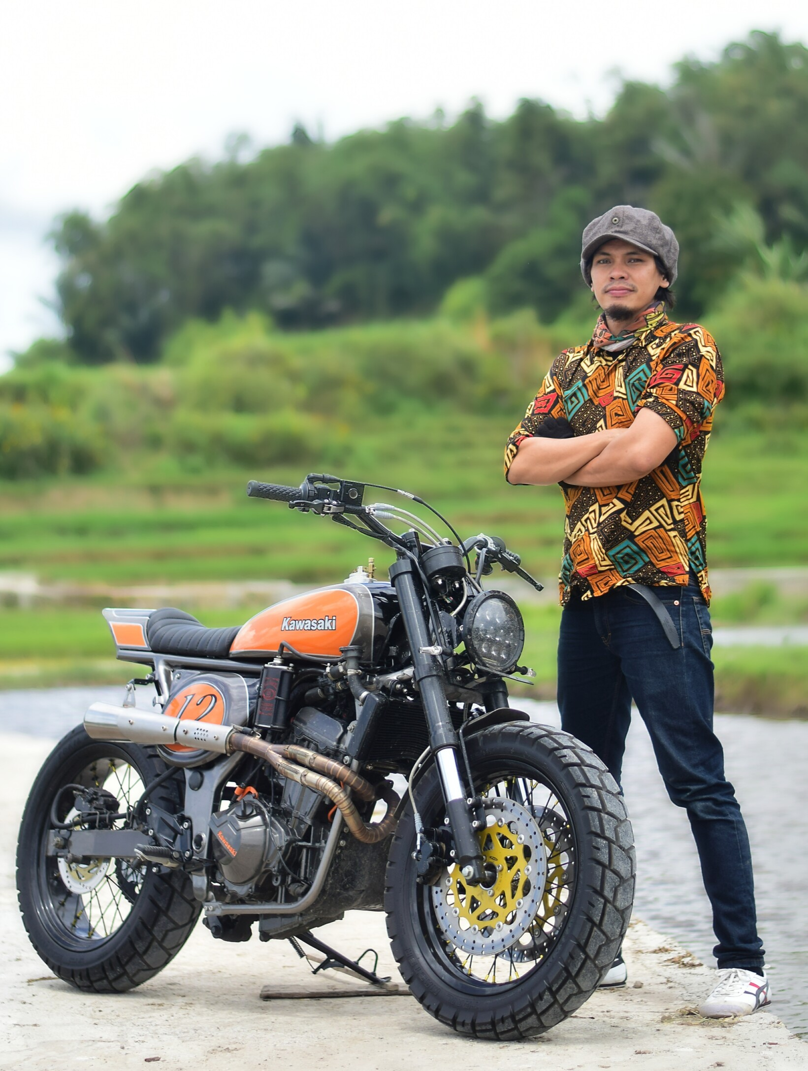 Kawasaki Ninja 250R Street Tracker – BikeBound