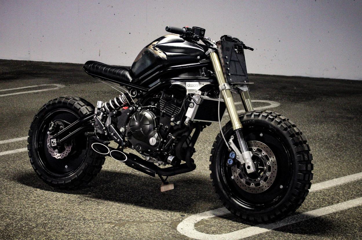 Kawasaki Ninja 650R Streetfighter: In the Builder's Words
