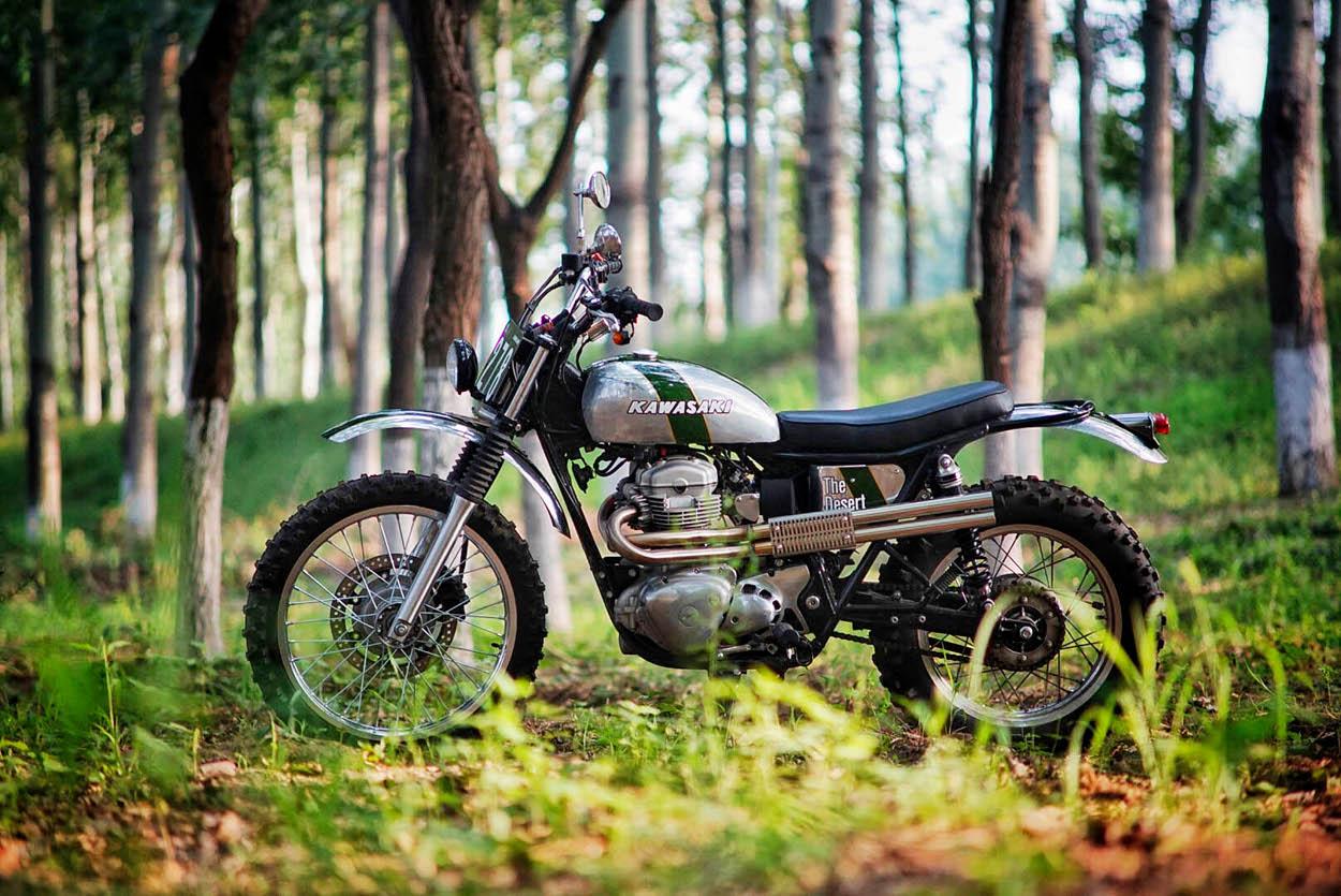 Kawasaki W800 Scrambler By Mandrill Garage Bikebound
