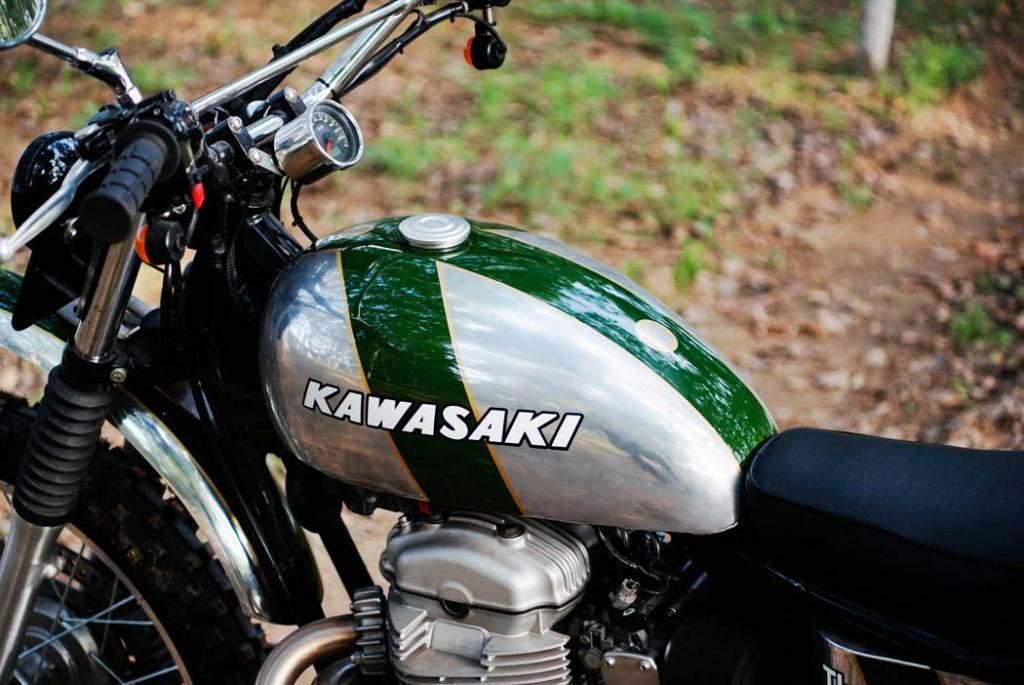 Kawasaki W800 Scrambler