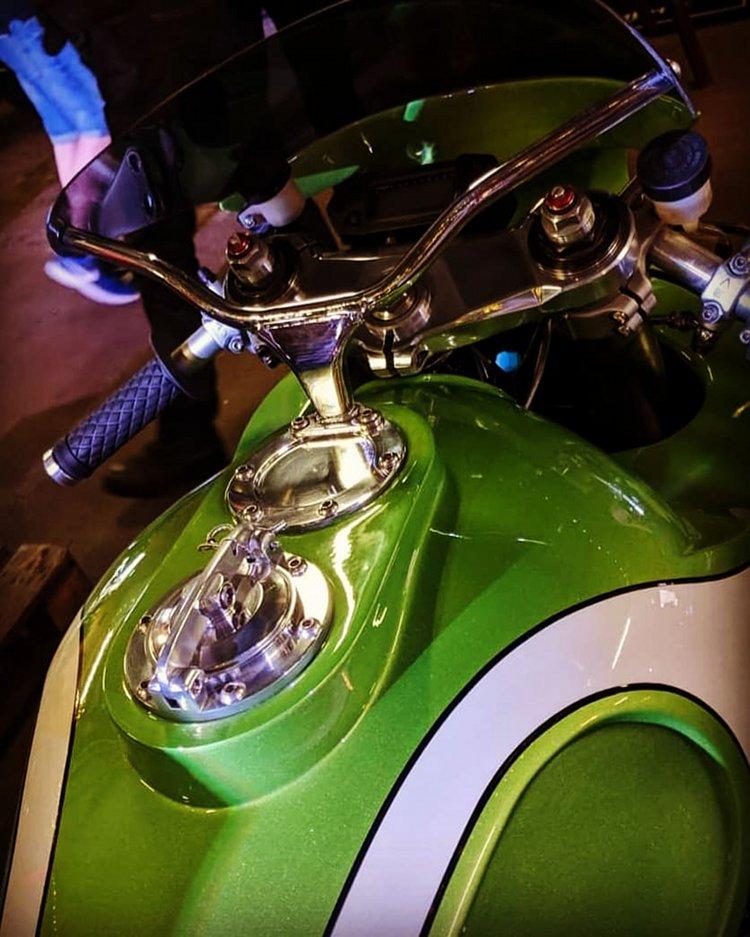 Kawasaki Zephyr Cafe Racer Seat