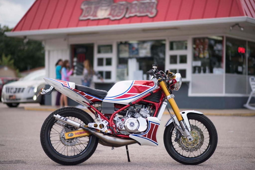Yamaha RZ350 Custom Restomod