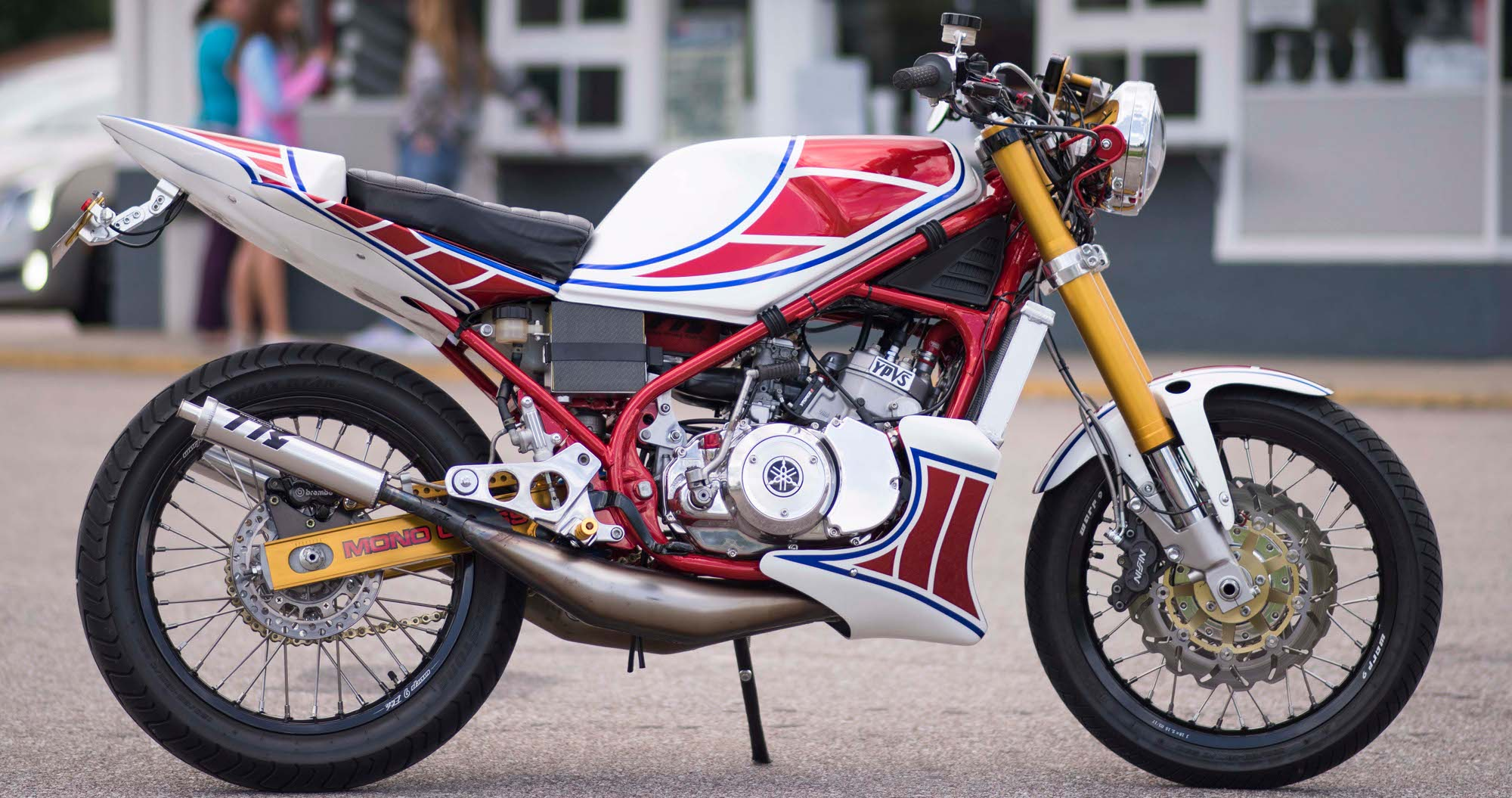 Yamaha RZ350 Restomod by Keith Carlson – BikeBound