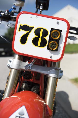 Honda CB550K Cafe Racer
