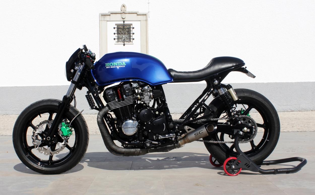 honda cb750 cafe racer by rw motorcycles bikebound. Black Bedroom Furniture Sets. Home Design Ideas