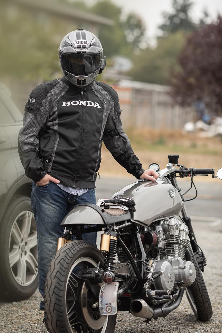 Honda CB750F Cafe Racer: In the Builder's Words