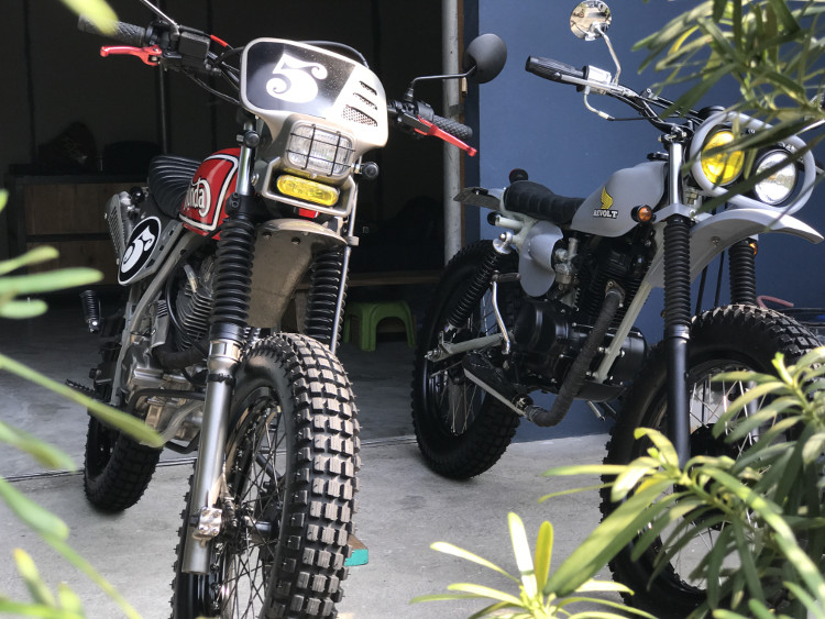 Honda XLR200 Tracker