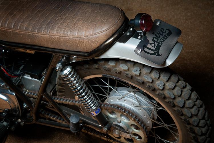 Kawasaki KZ400 Desert Sled