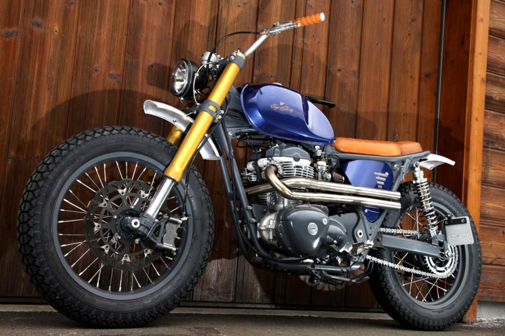 Kawasaki W650 Street Tracker