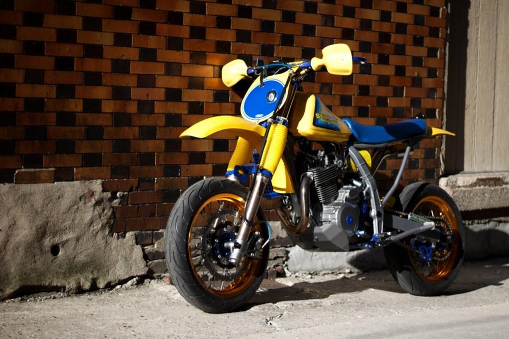 Suzuki DR650 Retromotard