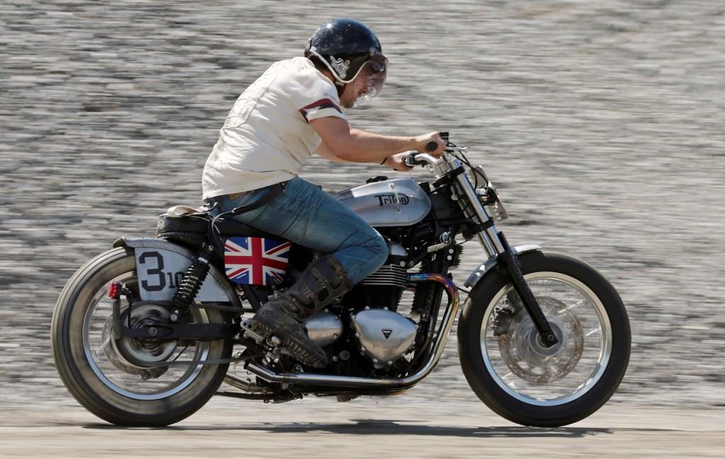 Triumph Thruxton Speedway Triten