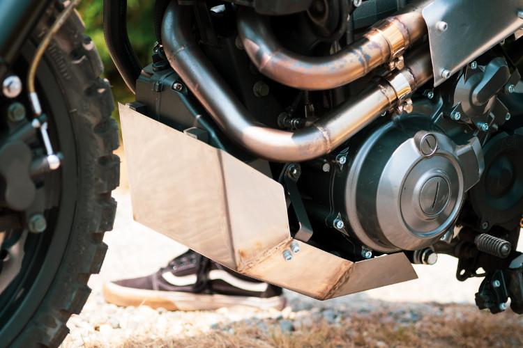 Yamaha MT-03 Scrambler