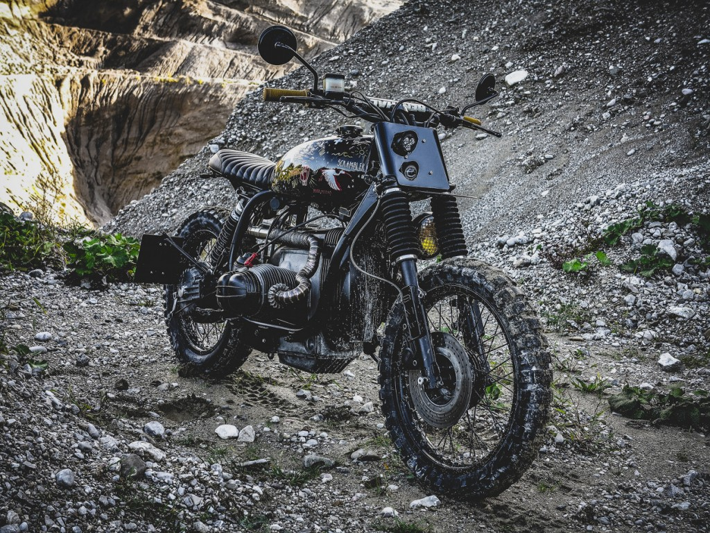 BMW R80RT Scrambler