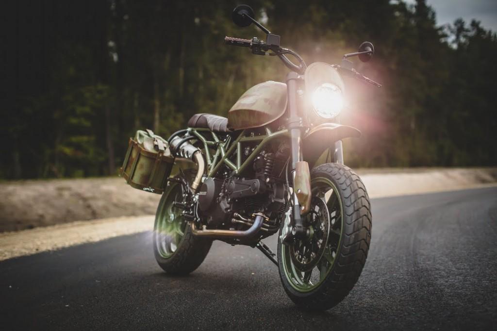 Ducati Hypermotard Scrambler