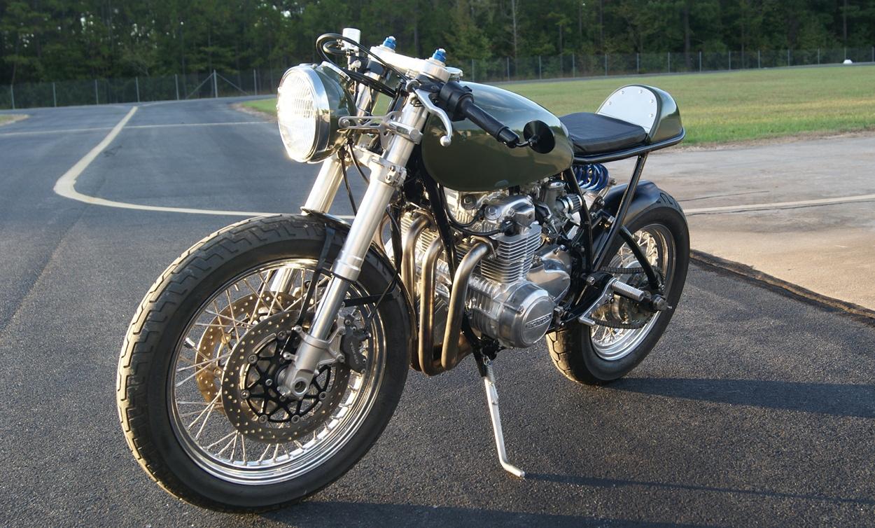 Honda CB550 Monoshock Cafe Racer