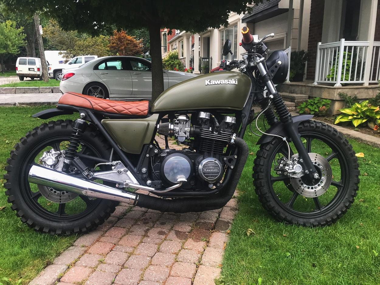 Kawasaki KZ750 Scrambler