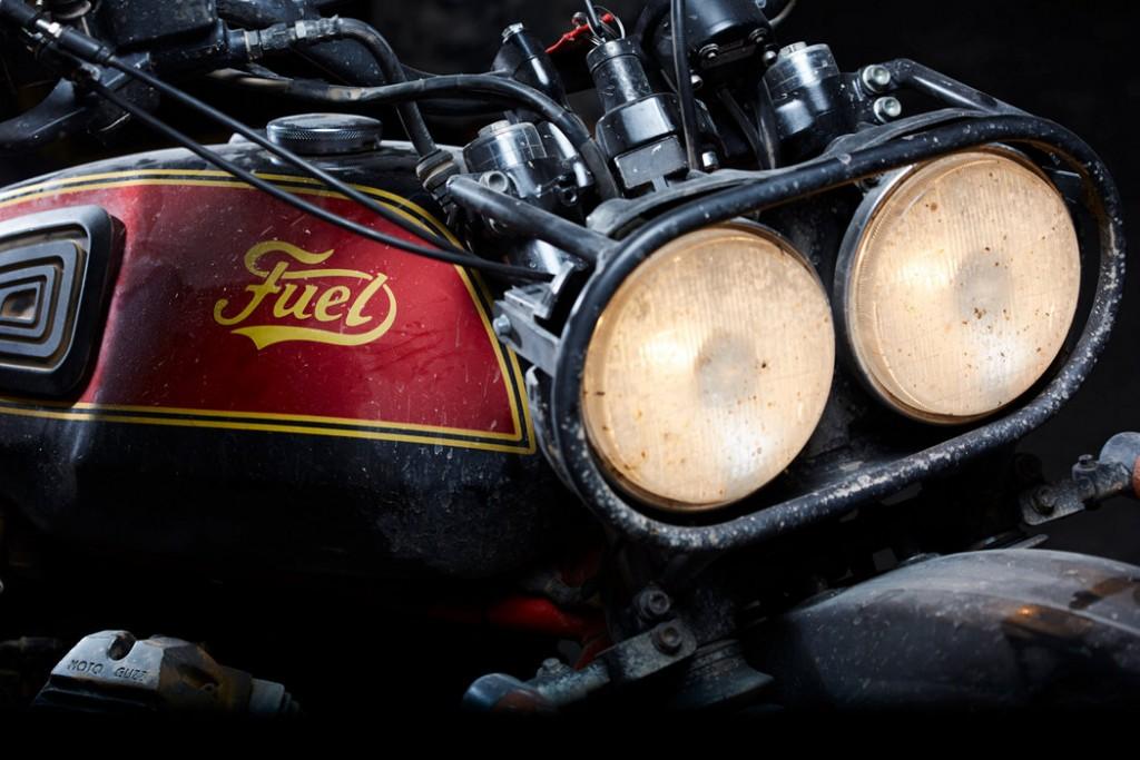 Moto Guzzi V65 TT Desert Sled