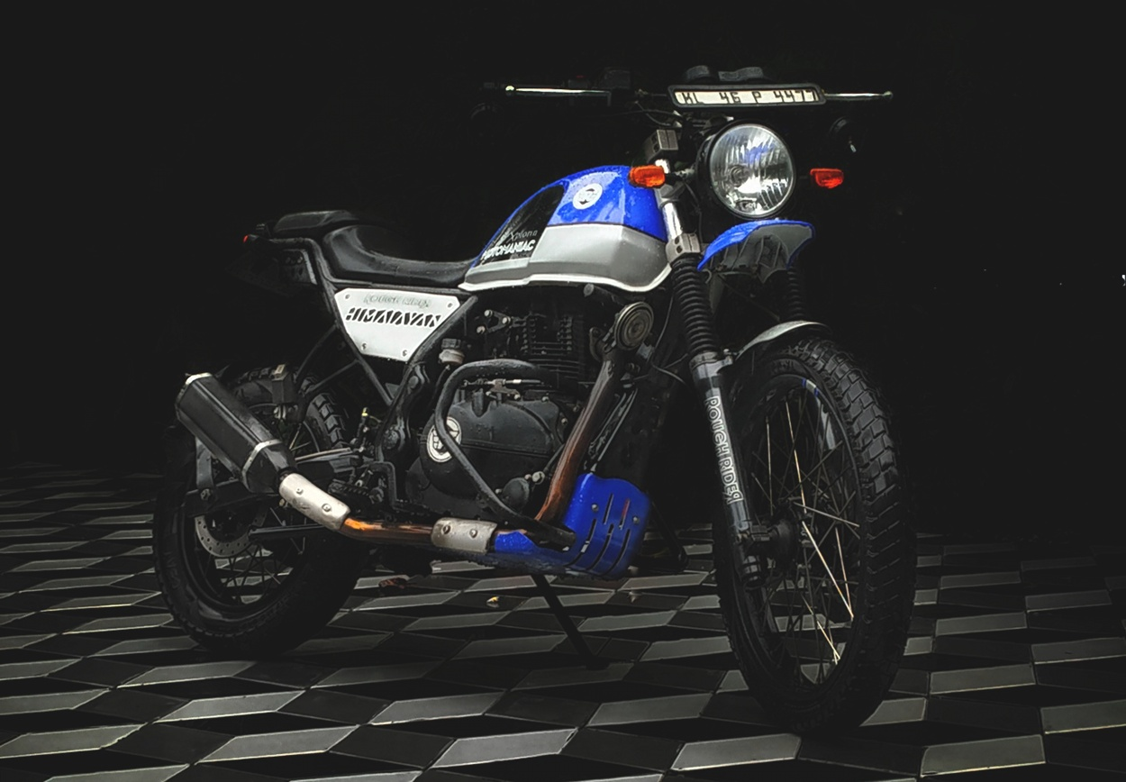Royal Enfield Himalayan Street Tracker By Rough Rider Bikebound