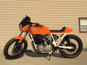 Supercharged Honda CB750