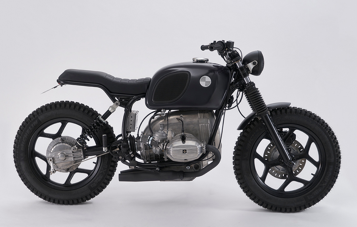 sumo bmw r80 scrambler by muto motorbikes bikebound. Black Bedroom Furniture Sets. Home Design Ideas