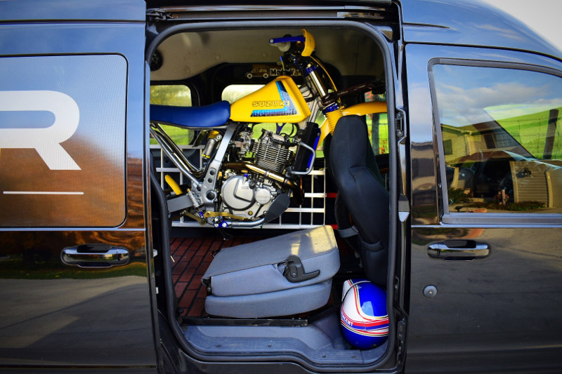 Ford Transit Connect Motorcycle Van