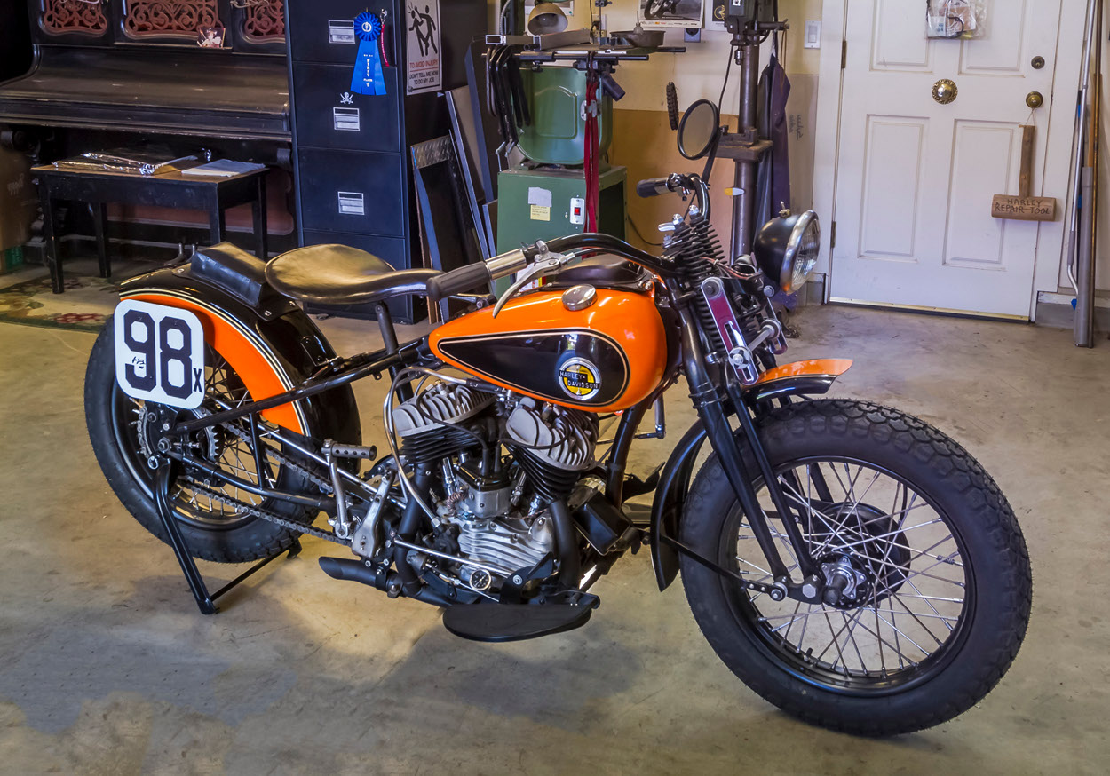 """Harley-Davidson WR / WRTT """"Leonard Special"""" – BikeBound"""