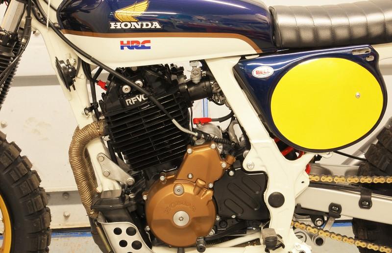 Honda NX650 Dominator Street Scrambler