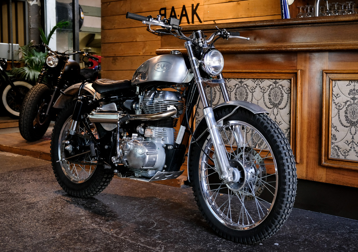 Royal Enfield Classic 500 Trials Bike Bikebound
