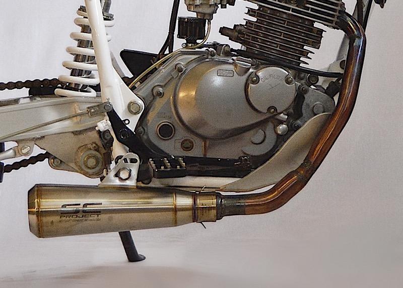 Suzuki DR200 Scrambler