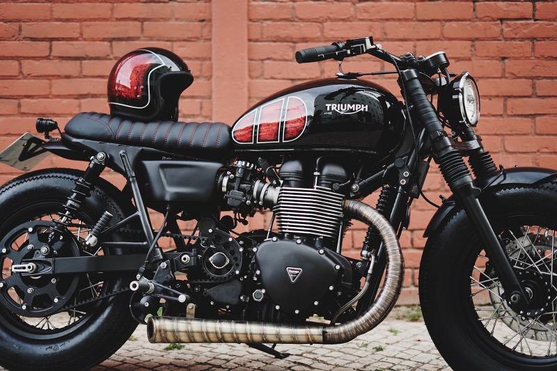 Triumph T100 Custom Bobber