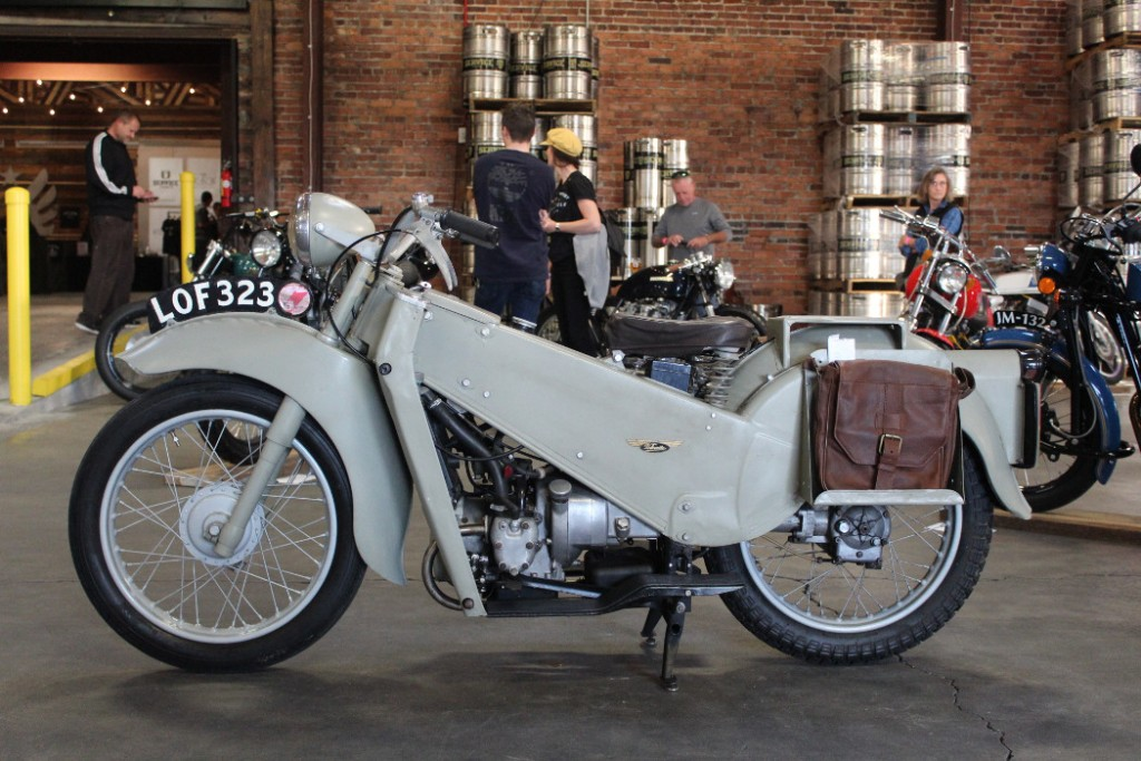 1951 Velocette 200 LE by Peter and Patty Frank.