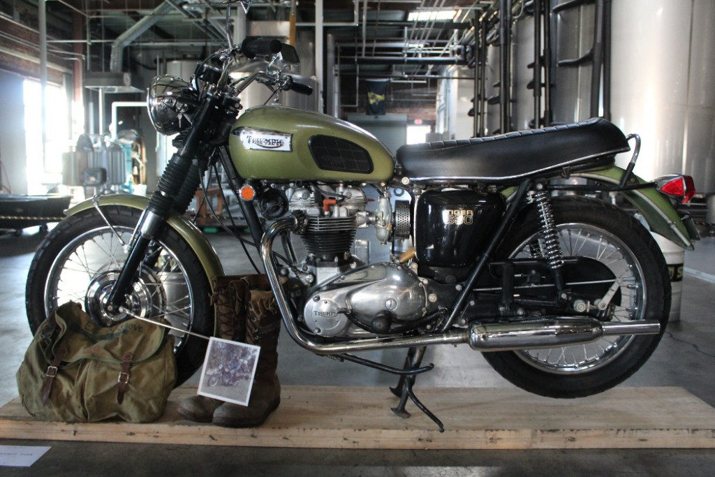 1970 Triumph Tiger by Chad Faries.