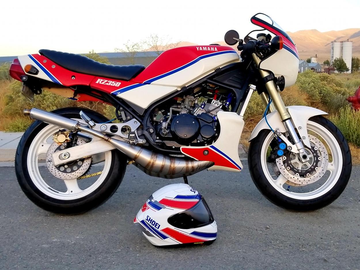 Yamaha RZ350 Restomod – BikeBound