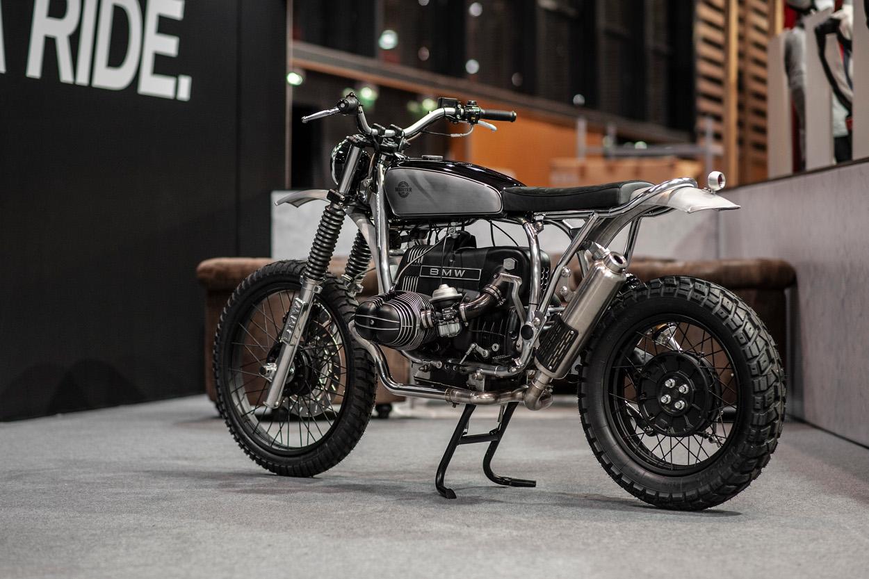 Bmw R80gs Enduro Scrambler By Meister Engineering Bikebound