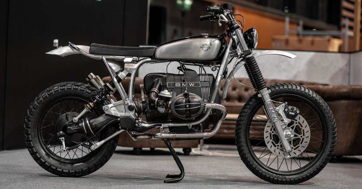 Bmw R80gs Enduro Scrambler By Meister Engineering Bikebound
