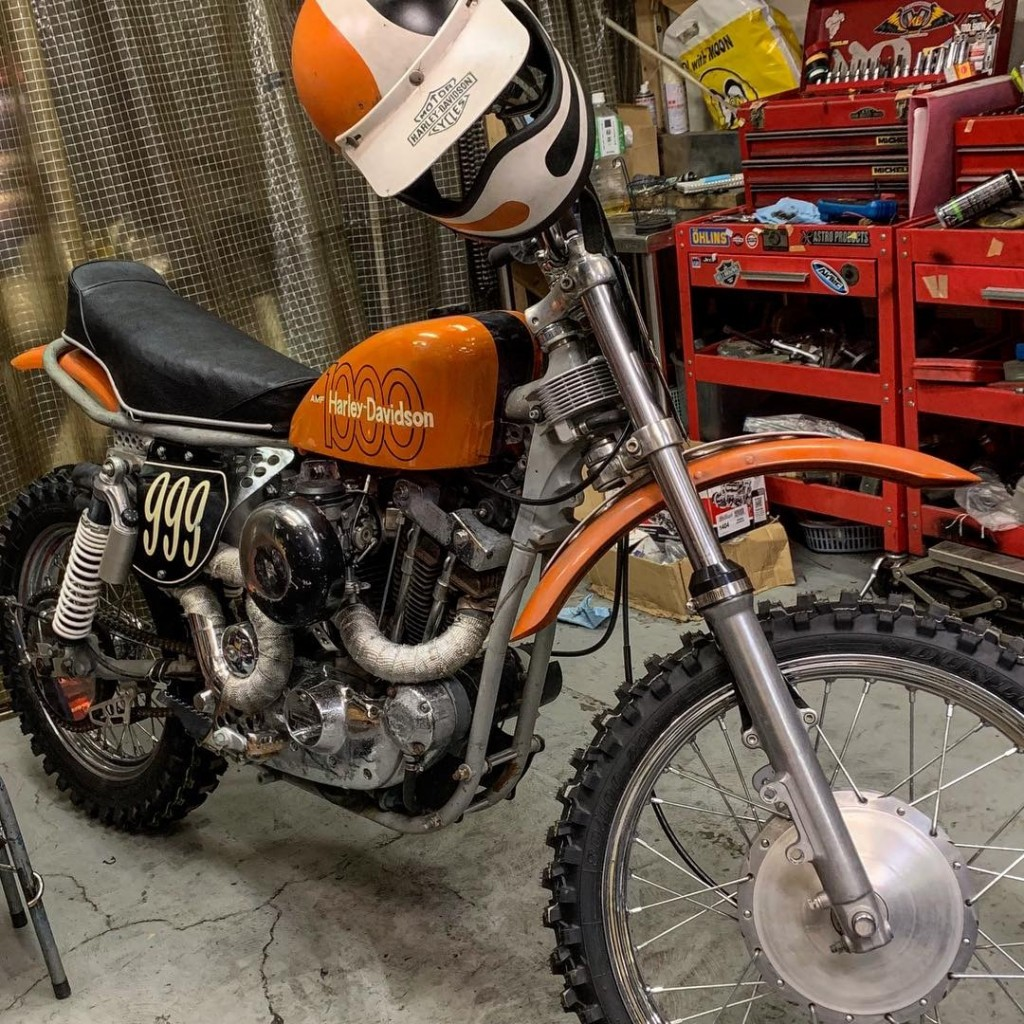 Harley Ironhead Motocross Scrambler